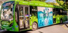 Santiago con buses no contaminantes y energía limpia