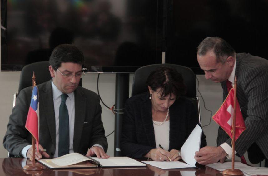 Chile y Suiza comprometen trabajo conjunto para enfrentar el cambio climático 2