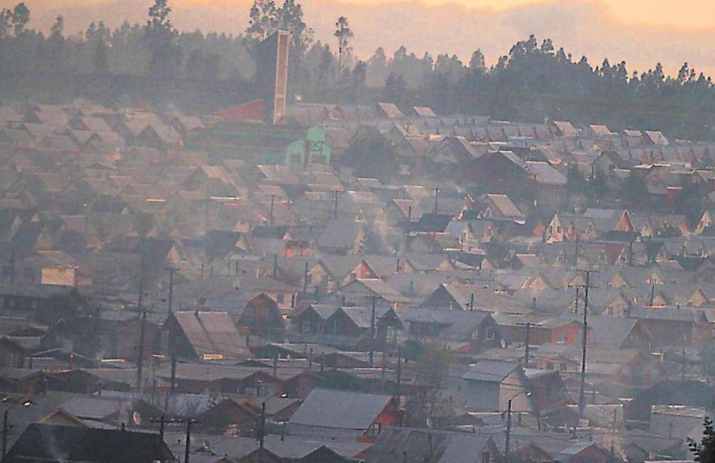 ¿Cuál es el motivo que calidad del aire de PLC sea bastante peor que la de Temuco? 2