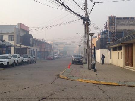 Nivel de contaminación atmosférica en Coyhaique llega a niveles de emergencia 2