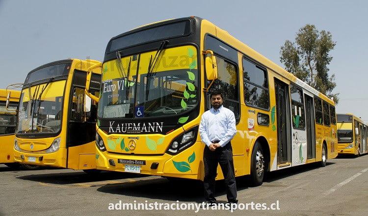 Cómo es el nuevo y ecológico bus Euro 6 Transantiago 2
