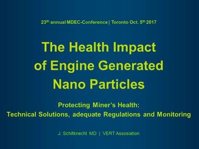 El impacto en la salud de las nanopartículas generadas por motores. 2