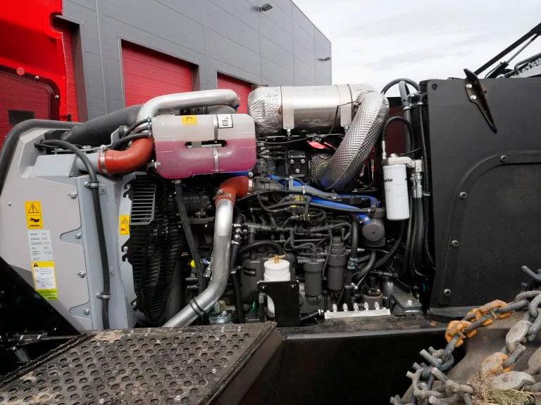 Normas de emisión de la UE y EE. UU. para motores diésel en máquinaria fuera de ruta. 4