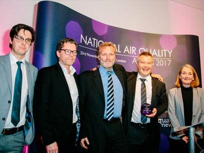 Amminex gana el Premio a la Calidad del Aire. 2