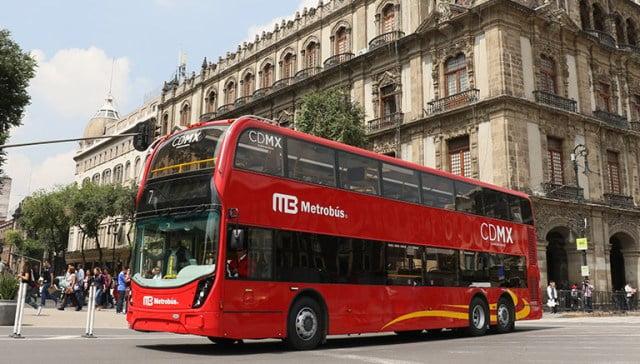 Autobuses de Línea 7 del Metrobús contaminan 99.7% menos 2