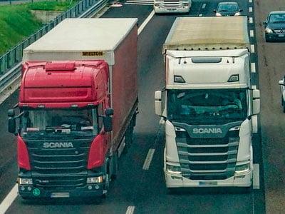 Reino Unido lanza ofensiva para atrapar quienes no cumplen norma en emisiones de camiones. 9
