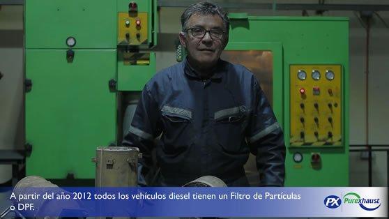 Filtros de partículas diésel DPF 1